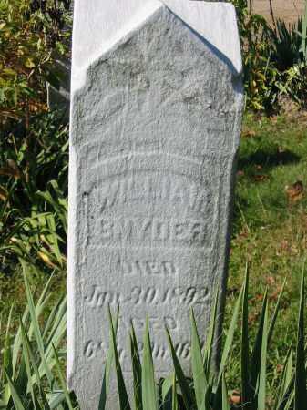 SNYDER, WILLIAM - Stark County, Ohio | WILLIAM SNYDER - Ohio Gravestone Photos