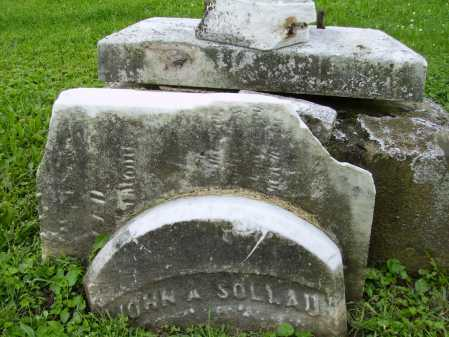 SOLLAU, JOHN ALBERT - Stark County, Ohio | JOHN ALBERT SOLLAU - Ohio Gravestone Photos