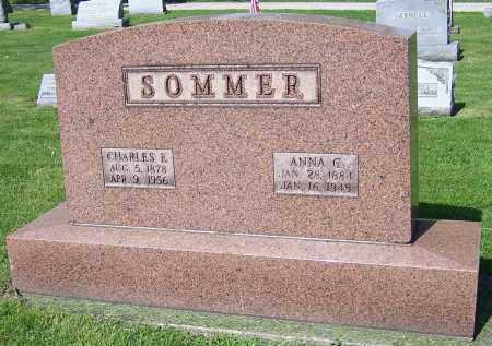 DYSLE SOMMER, ANNA C. - Stark County, Ohio | ANNA C. DYSLE SOMMER - Ohio Gravestone Photos