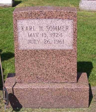 SOMMER, KARL H. - Stark County, Ohio   KARL H. SOMMER - Ohio Gravestone Photos