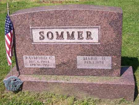 SOMMER, MARIE H. - Stark County, Ohio | MARIE H. SOMMER - Ohio Gravestone Photos