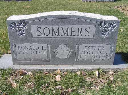 SOMMERS, ESTHER - Stark County, Ohio | ESTHER SOMMERS - Ohio Gravestone Photos