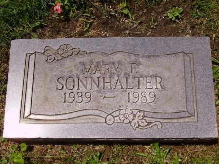 SONNHALTER, MARY E. - Stark County, Ohio | MARY E. SONNHALTER - Ohio Gravestone Photos