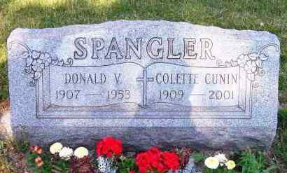 SPANGLER, DONALD V. - Stark County, Ohio | DONALD V. SPANGLER - Ohio Gravestone Photos