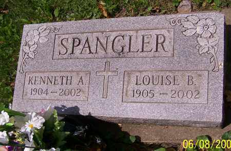 SPANGLER, LOUISE B. - Stark County, Ohio   LOUISE B. SPANGLER - Ohio Gravestone Photos