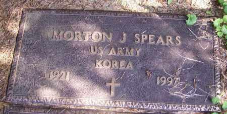 SPEARS, MORTON J. (MIL) - Stark County, Ohio   MORTON J. (MIL) SPEARS - Ohio Gravestone Photos