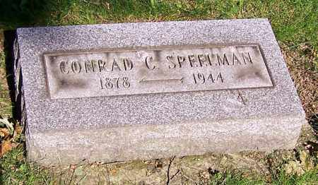 SPEELMAN, CONRAD C. - Stark County, Ohio | CONRAD C. SPEELMAN - Ohio Gravestone Photos