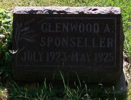 SPONSELLER, GLENWOOD A. - Stark County, Ohio | GLENWOOD A. SPONSELLER - Ohio Gravestone Photos