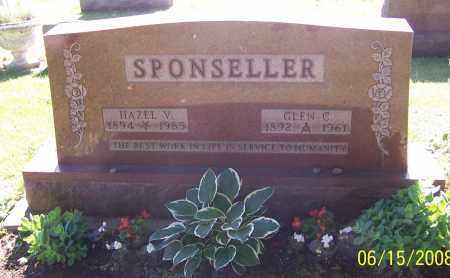SPONSELLER, HAZEL V. - Stark County, Ohio   HAZEL V. SPONSELLER - Ohio Gravestone Photos