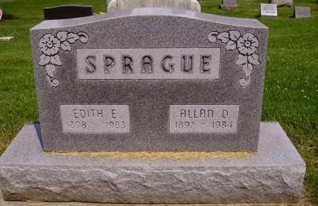 SPRAGUE, ALLAN D. - Stark County, Ohio | ALLAN D. SPRAGUE - Ohio Gravestone Photos