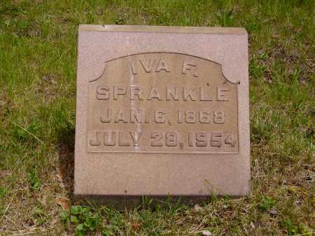 SPRANKLE, IVA F. - Stark County, Ohio | IVA F. SPRANKLE - Ohio Gravestone Photos