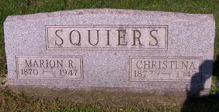 SQUIERS, CHRISTENA - Stark County, Ohio | CHRISTENA SQUIERS - Ohio Gravestone Photos