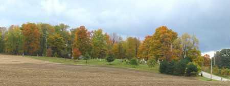 ST PETERS CEMETERY, WEST SIDE PANORAMIC VIEW - Stark County, Ohio   WEST SIDE PANORAMIC VIEW ST PETERS CEMETERY - Ohio Gravestone Photos