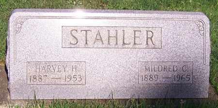 STAHLER, HARVEY H. - Stark County, Ohio | HARVEY H. STAHLER - Ohio Gravestone Photos
