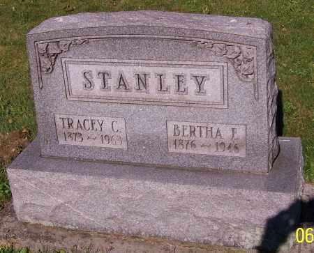 STANLEY, BERTHA E. - Stark County, Ohio | BERTHA E. STANLEY - Ohio Gravestone Photos