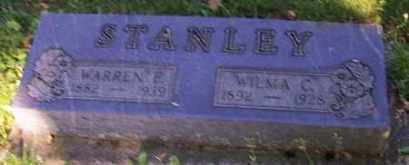 STANLEY, WARREN E. - Stark County, Ohio | WARREN E. STANLEY - Ohio Gravestone Photos