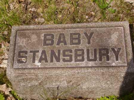 STANSBURY, BABY - Stark County, Ohio   BABY STANSBURY - Ohio Gravestone Photos