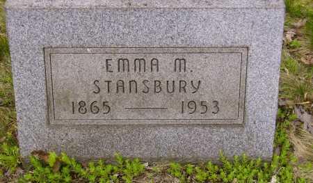 STANSBURY, EMMA M. - Stark County, Ohio | EMMA M. STANSBURY - Ohio Gravestone Photos