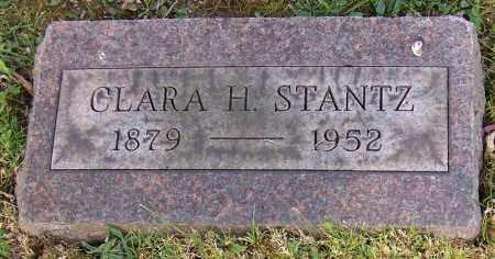 MOOK STANTZ, CLARA H. - Stark County, Ohio | CLARA H. MOOK STANTZ - Ohio Gravestone Photos