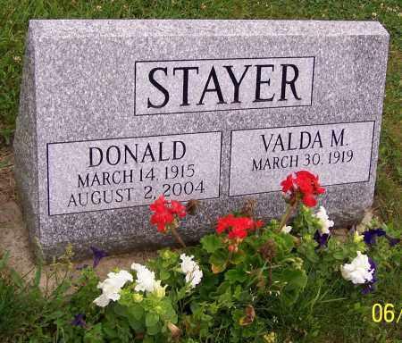 STAYER, VALDA M. - Stark County, Ohio   VALDA M. STAYER - Ohio Gravestone Photos