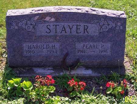 STAYER, PEARL P. - Stark County, Ohio | PEARL P. STAYER - Ohio Gravestone Photos