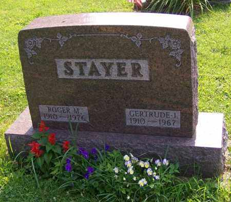 STAYER, ROGER M. - Stark County, Ohio | ROGER M. STAYER - Ohio Gravestone Photos