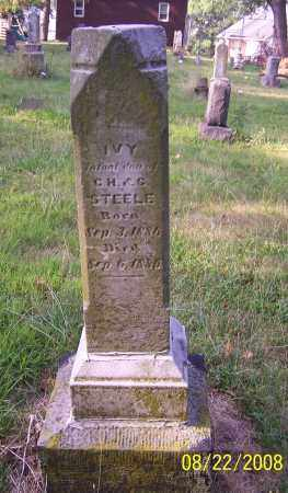 STEELE, IVY - Stark County, Ohio | IVY STEELE - Ohio Gravestone Photos