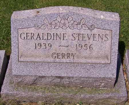 STEVENS, GERALDINE - Stark County, Ohio | GERALDINE STEVENS - Ohio Gravestone Photos