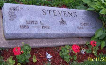 STEVENS, LOYD L. - Stark County, Ohio   LOYD L. STEVENS - Ohio Gravestone Photos