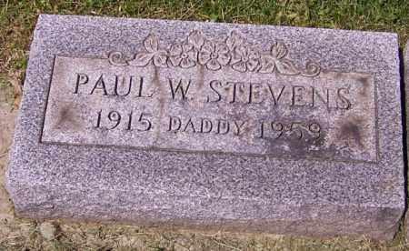 STEVENS, PAUL W. - Stark County, Ohio   PAUL W. STEVENS - Ohio Gravestone Photos