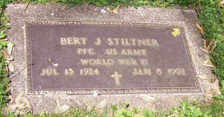 STILTNER, BERT J. (MIL) - Stark County, Ohio | BERT J. (MIL) STILTNER - Ohio Gravestone Photos