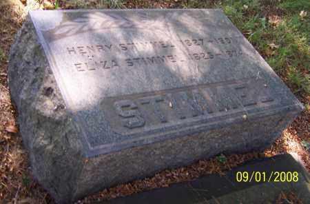 STIMMEL, ELIZA - Stark County, Ohio | ELIZA STIMMEL - Ohio Gravestone Photos