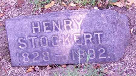 STOCKERT, HENRY - Stark County, Ohio | HENRY STOCKERT - Ohio Gravestone Photos