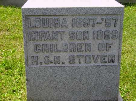 STOVER, INFANT SON - Stark County, Ohio | INFANT SON STOVER - Ohio Gravestone Photos