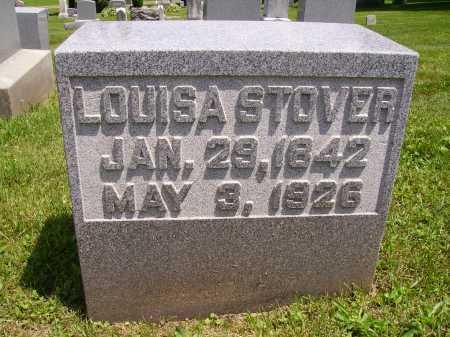 STOVER, LOUISA - Stark County, Ohio | LOUISA STOVER - Ohio Gravestone Photos