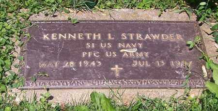 STRAWDER, KENNETH L.  (MIL) - Stark County, Ohio   KENNETH L.  (MIL) STRAWDER - Ohio Gravestone Photos