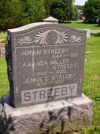 STREEBY, FAMILY MONUMENT - Stark County, Ohio | FAMILY MONUMENT STREEBY - Ohio Gravestone Photos