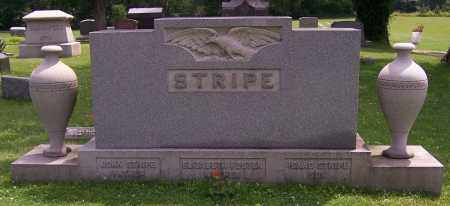 STRIPE, ELIZABETH FOSTER - Stark County, Ohio | ELIZABETH FOSTER STRIPE - Ohio Gravestone Photos