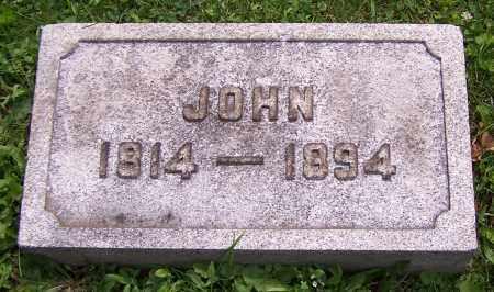 STRIPE, JOHN - Stark County, Ohio   JOHN STRIPE - Ohio Gravestone Photos