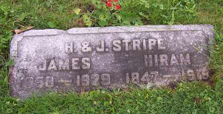 STRIPE, HIRAM - Stark County, Ohio | HIRAM STRIPE - Ohio Gravestone Photos