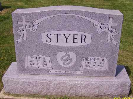 STYER, PHILIP H. - Stark County, Ohio | PHILIP H. STYER - Ohio Gravestone Photos