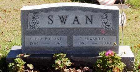 GRANT SWAN, LEOTA P. - Stark County, Ohio | LEOTA P. GRANT SWAN - Ohio Gravestone Photos