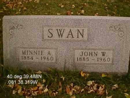 SWAN, MINNIE ALICE - Stark County, Ohio | MINNIE ALICE SWAN - Ohio Gravestone Photos