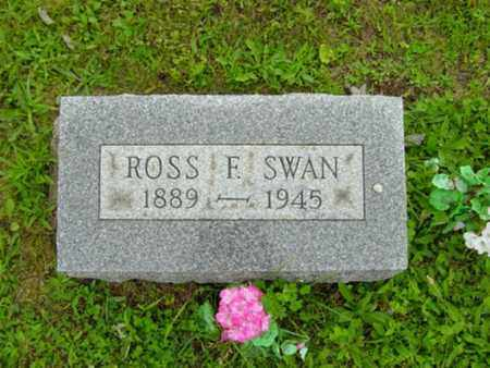 SWAN, ROSS F. - Stark County, Ohio | ROSS F. SWAN - Ohio Gravestone Photos