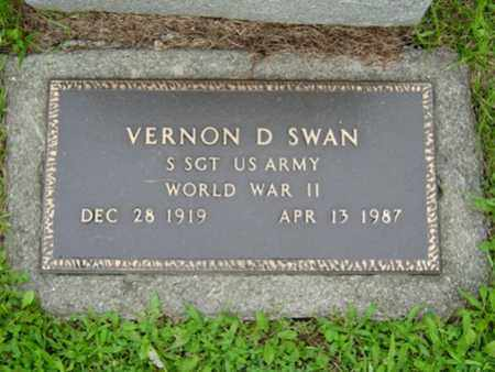 SWAN, VERNON D. - Stark County, Ohio | VERNON D. SWAN - Ohio Gravestone Photos