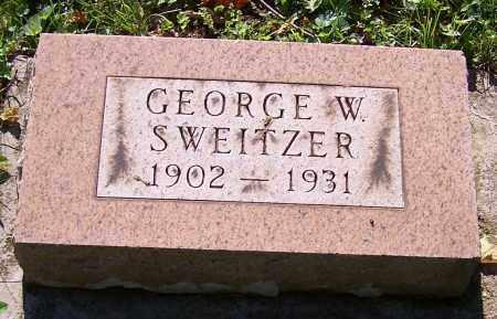 SWEITZER, GEORGE W. - Stark County, Ohio | GEORGE W. SWEITZER - Ohio Gravestone Photos