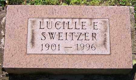 SWEITZER, LUCILLE E. - Stark County, Ohio | LUCILLE E. SWEITZER - Ohio Gravestone Photos