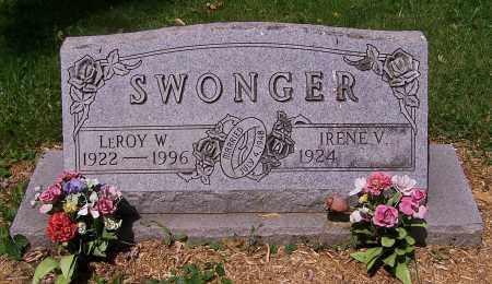 SWONGER, IRENE V. - Stark County, Ohio | IRENE V. SWONGER - Ohio Gravestone Photos