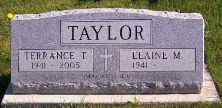 TAYLOR, ELAINE M. - Stark County, Ohio | ELAINE M. TAYLOR - Ohio Gravestone Photos