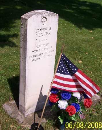 TEXTER, JOHN A. - Stark County, Ohio | JOHN A. TEXTER - Ohio Gravestone Photos